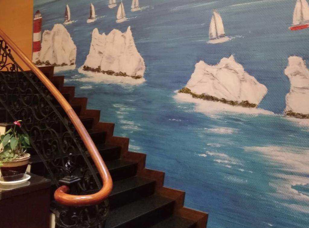 麗池山水溫泉會館PVC壁貼
